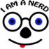 I am a nerd Logo